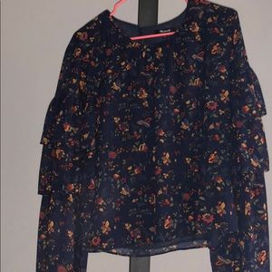 NWT Madewell Floral Top
